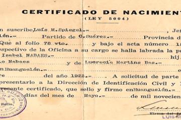 Certificado de Nacimiento | Turnos + Obtención