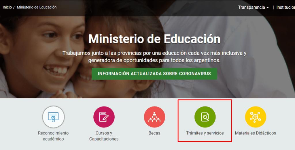 Imagen: Certificado Analítico Secundario Online